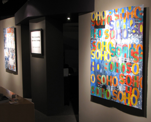 """SoHo Memory Paintings"" at The Frame Maker"