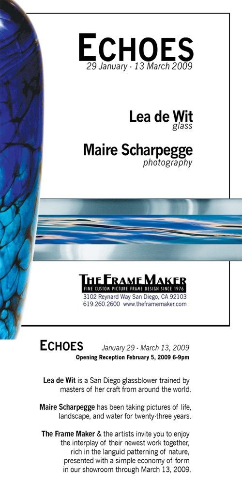 Echoes: Glass & Photography @ The Frame Maker - The Frame Maker San ...