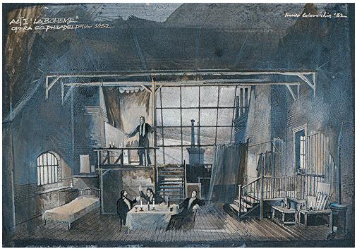 La Boheme Act I | Philadelphia Opera 1982 | Franco Colavecchia