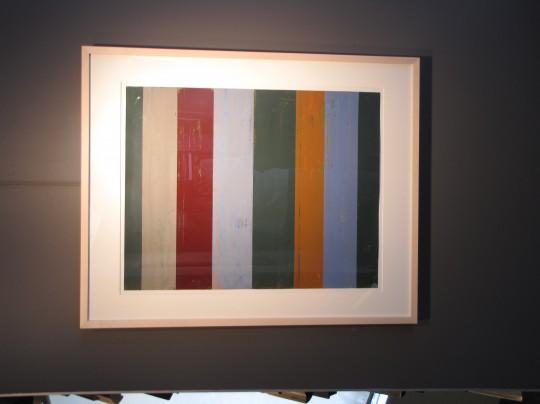 Don Strandberg Paintings In The Frame Maker Showroom Through