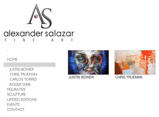Alex Salazar Fine Art, San Diego